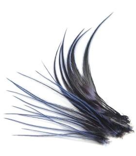 Plume courte pour cheveux - Violet Janthina
