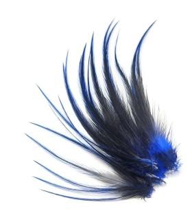 Plume courte pour cheveux - Indigo intense