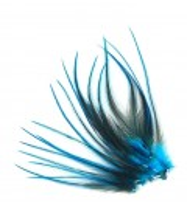 Plume courte pour cheveux - Bleu profond