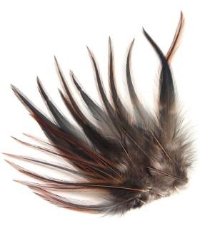 Sioux naturel - plumes courtes à fixer dans les cheveux