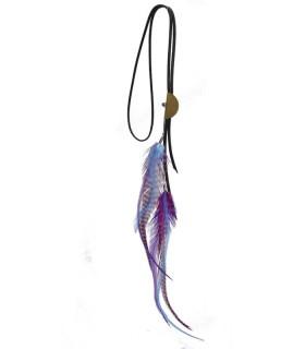 Sautoir en plumes naturelles - Collection Cajole