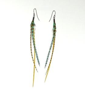 Boucles d'oreilles, taille M, modèle 01 - collection Greenwitch