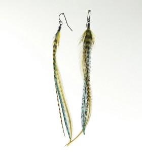 Boucles d'oreilles, taille L, modèle 01 collection Greenwitch