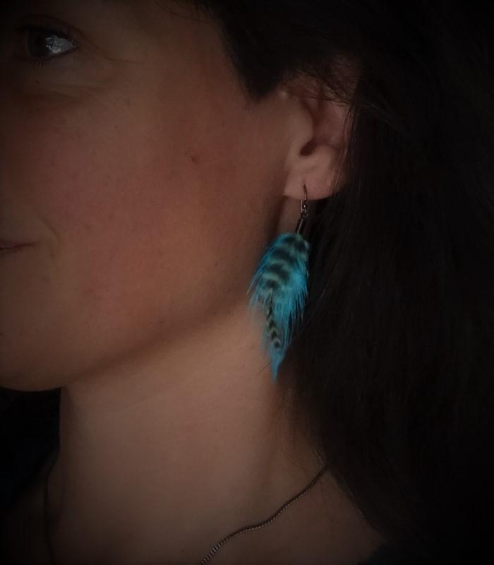 Boucles d'oreilles, taille S, modèle 01 - collection Acapulco