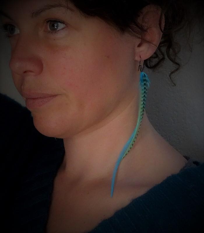 Boucles d'oreilles, taille L, modèle 02 - collection New Acapulco